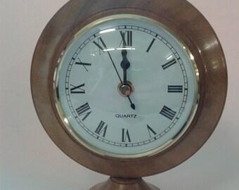 Clock hand  turned