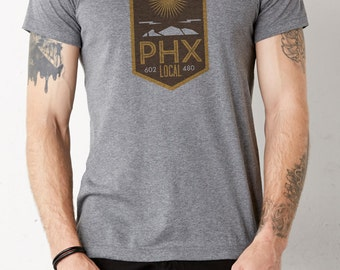 Phoenix Local: Adult's Unisex Soft Blend T-Shirt