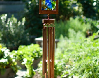 Wind Chime Kaleidoscope Mosaic Suncatcher Windchime