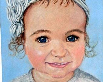 Portrait Artist, Child's Portrait Drawing