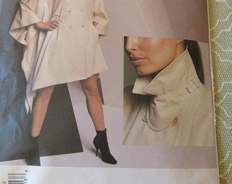 Vintage Vogue 2724 Donna Karan New York Poncho Sewing Pattern All Sizes S M L