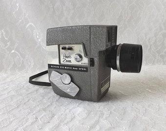 1960's Revere Power Zoom 8mm Movie Camera Model 118