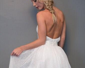 Sequin Net Ball Skirt - Full Length