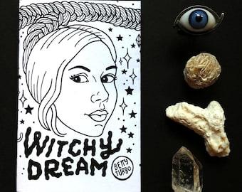 Witchy Dream Mini Magic Zine