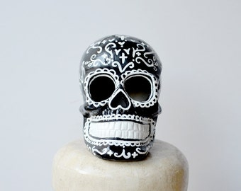 Sugar Skull Sculpture for Day of the Dead
