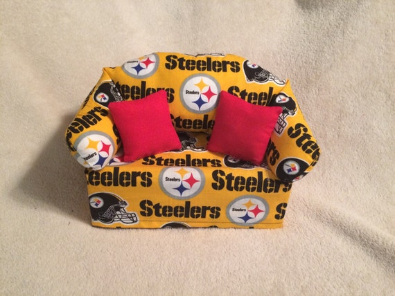Pittsburgh Steelers Sofa Tissue Box Cover