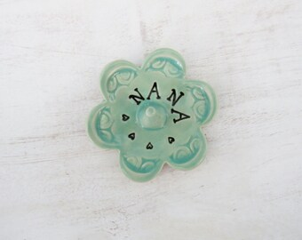 Nana ring dish - Gift for Nana - Keepsake Ring Dish - Ready to Ship,  Gift box included