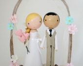 custom wedding cake topper - order for -EMMELINESOTO