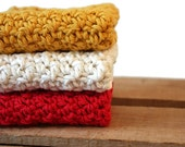Country Kitchen Dish Towels Crochet Dishcloths Cotton Dishcloths Scrubbies Washcloths