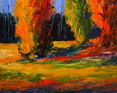 Bobbi Doyle-Maher Southern Landscape  Original painting Acrylic on panel