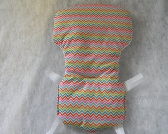 Eddie  Bauer High Chair Cover In Multi Chevron   ~~WIPEABLE~~