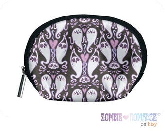 Ghost Cosmetic Bag BLACK!