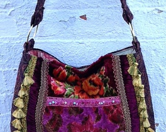 Purple Gypsy Bag