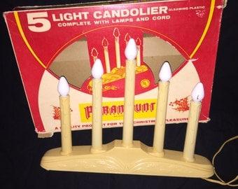 Vintage Paramount 5-Light Candolier