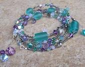 reserved  3-in-1 favorite swarovski wrap bracelet
