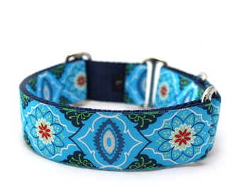 "1.5"" Marrakesh Market martingale or buckle collar"