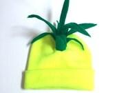 Pineapple Beanie - Ananas Fruit Costume - Halloween Carmen Miranda Hat