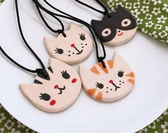 Ceramic Cat Necklace - Your style choice