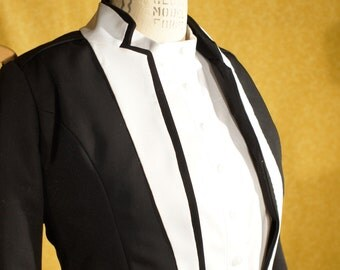 Black and White----Custom Women's Tuxedos