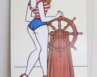 Hey Sailor! - Illustration by Brenda Dunn from Portland, OR