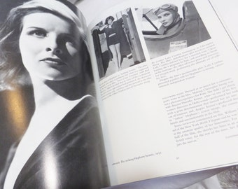 Katherine Hepburn Biography Book Her Life in Pictures by James Spada Published 1984 Vintage Book Hollywood Book Actor Book Actress Book