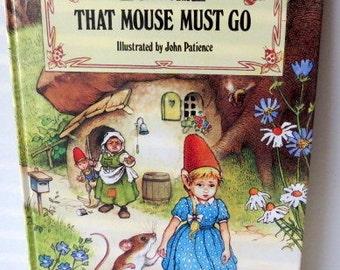 Vintage Children's Book - Gnome - Derrydale Books - Rainbows End Book - Woodland - Fairytale 1980s