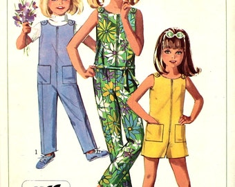 Jiffy Jumpsuit Size 4 Simplicity 7154