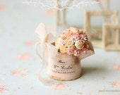 Dollhouse Miniature Bouquet - Pink Whispers
