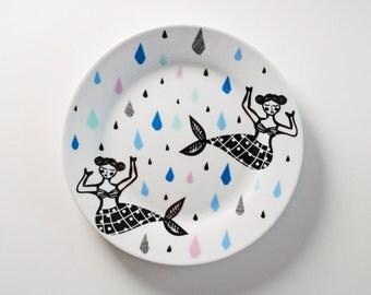 SUMMER SALE! Mermaids plate