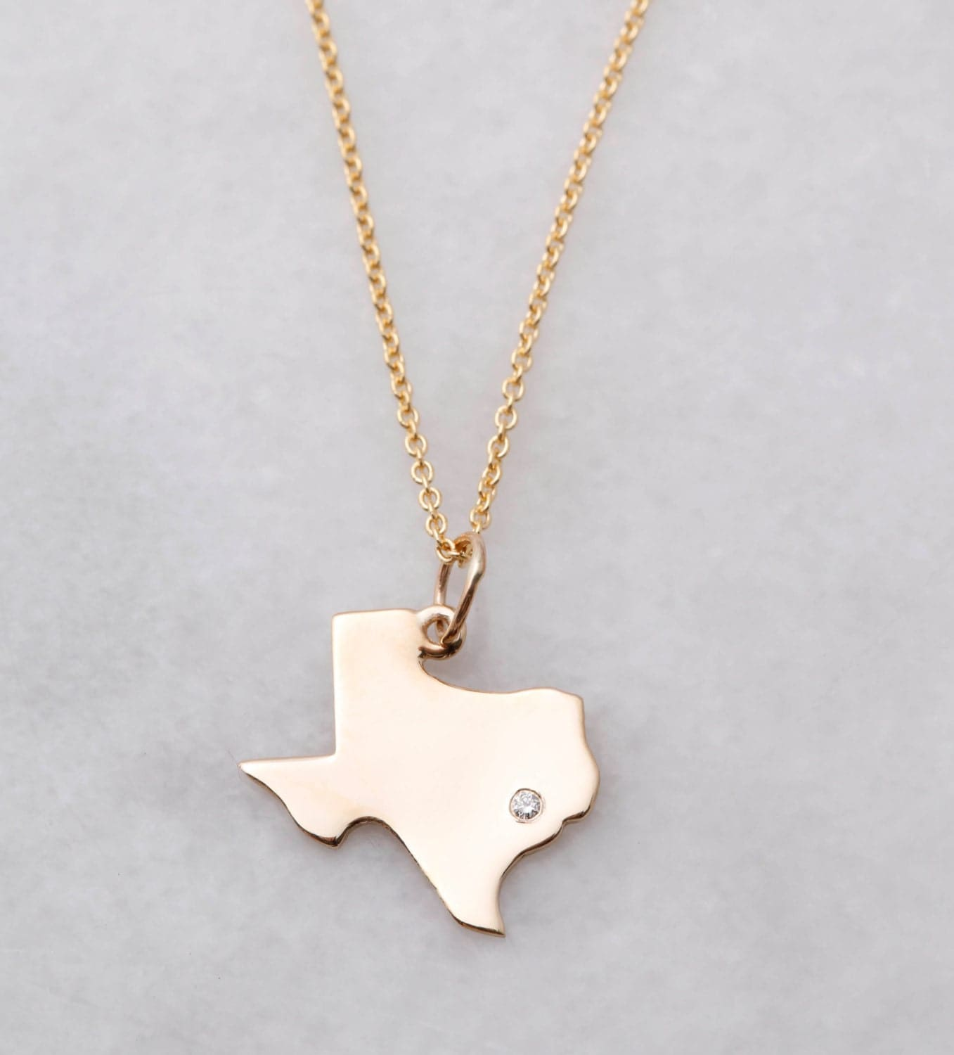 State of texas pendant frances and co 10k gold texas diamond mozeypictures Images