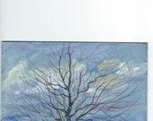 A Glowing Tree Tree  landscape painting  Jim Smeltz
