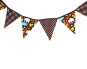 Zoo Animal Themed Bunting, Great for photo props!