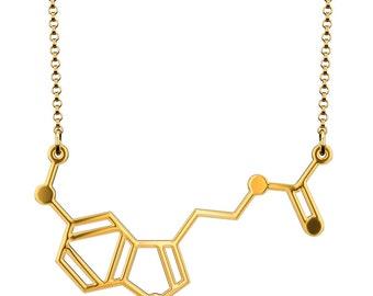 Melatonin Necklace - Gold