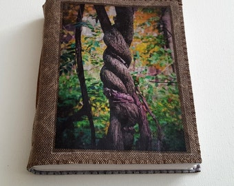 SALE twisted mid size journal - tree nature journal