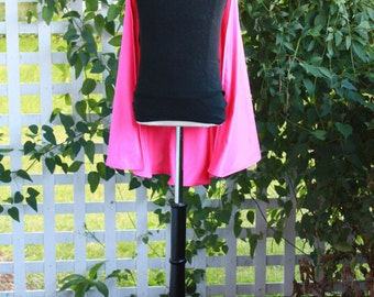 Hot Pink Clip-On Children's Super Hero Cape 25 Inches Long