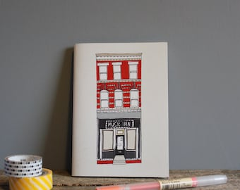 New York Recycled Pocket Notebook - A6