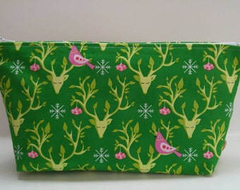 Festive Forest Large Pouch