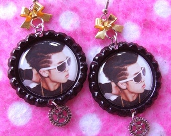 Sexy BTS Rap Monster KPOP Earrings