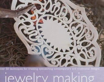 Jewelry Making Techniques Book by Elizabeth Olver, jewelry book destash sale