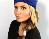 Twisted Turban Headband - Royal Blue - Women's | Teen | Child | Baby Headwrap