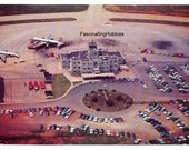 KNOXVILLE MUNICIPAL AIRPORT  - McGhee Tyson - Tennesse - years 1980 - Real Color Photo Postcard - Thompsons Photo - very good condition