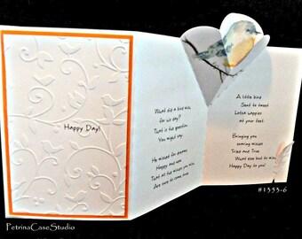 Bird Pop-Up Card -Design 1353
