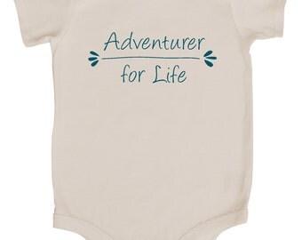 Adventurer for Life Baby Bodysuit