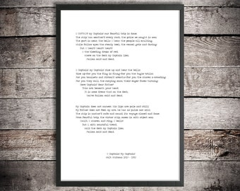 Walt Whitman Printable Poetry 'O Captain! My Captain!' Instant Download Vintage Typewriter Font American History Abraham Lincoln Civil War