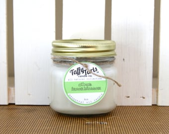 Citrus Candle - TaffyTarts™ Natural Soy Candle - Essential Oil Container Candle