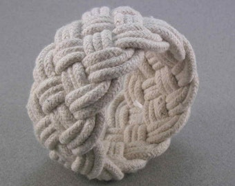 cotton rope bracelet turks head knot nautical bracelet handwoven cord armband rope jewelry 3087