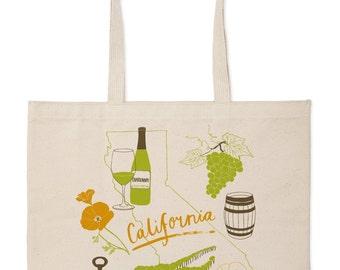 California Wine Market Tote