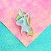 Unicorn Poop Limited Edition Enamel Pin