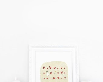A fairy, a Wand, some Hearts... - Deluxe Edition Print