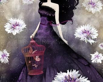 Purple Meadow - Deluxe Edition Print